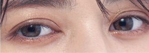doble tone eyes